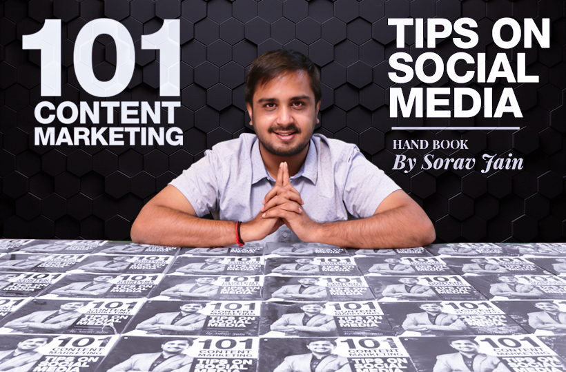 Launching 101 Content Marketing Tips on Social Media