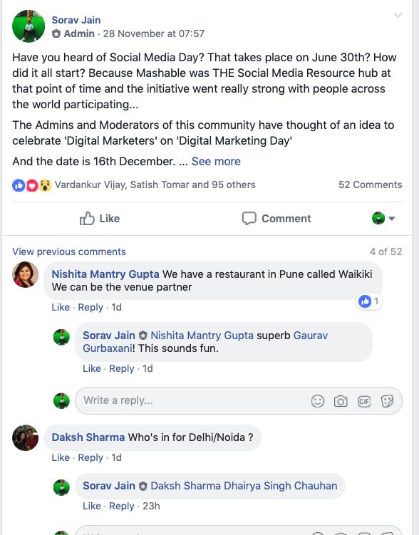 digital marketing day Chennai