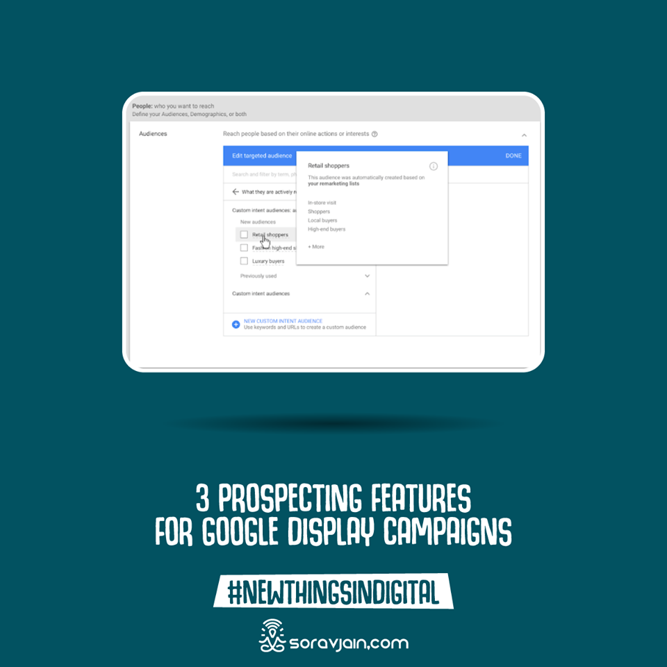 3 Prospecting Features For Google Display Campaigns