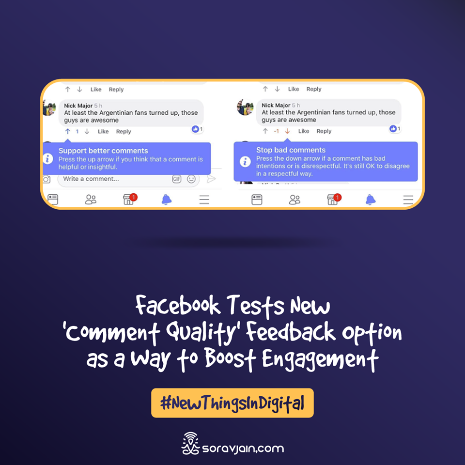 Facebook Tests New 'Comment Quality' Feedback Option as a Way to Boost Engagement