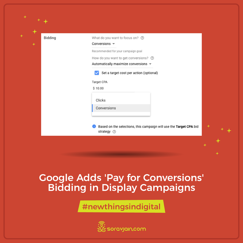 Google Adds 'Pay for Conversions' Bidding in Display Campaigns
