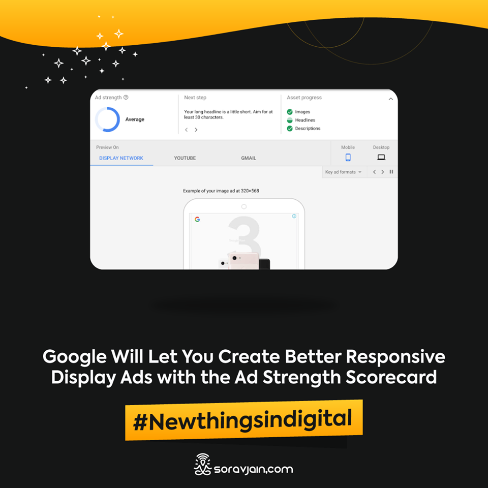 Google Will Let You Create Better Responsive Display Ads with the Ad Strength Scorecard