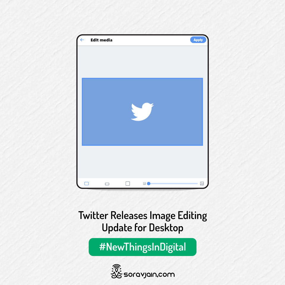 Twitter Releases Image Editing Update for Desktop