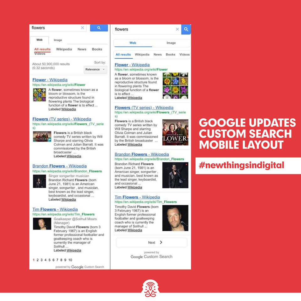 Google updates Custom Search mobile layout