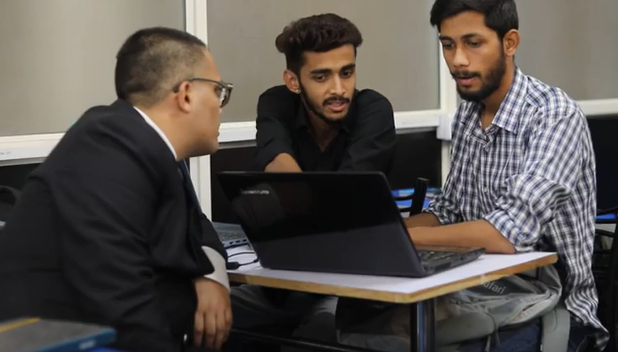 Digital Gurukul classroom