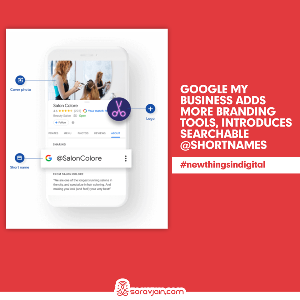 Google My Business Adds More Branding Tools, Introduces Searchable @shortnames