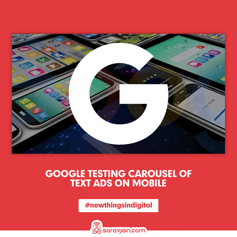 Google Testing Carousel of Text Ads On Mobile
