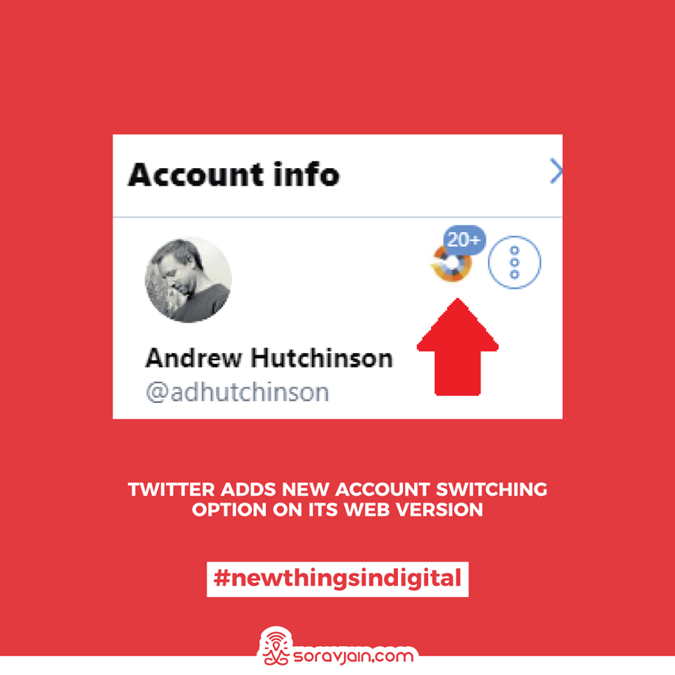 Twitter Adds New Account Switching Option on its Web Version
