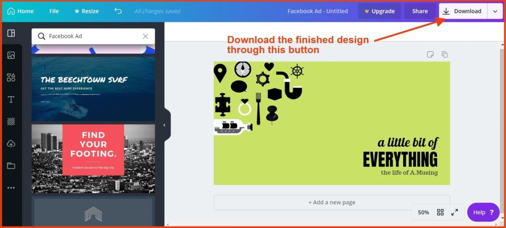 download-the-ad-design