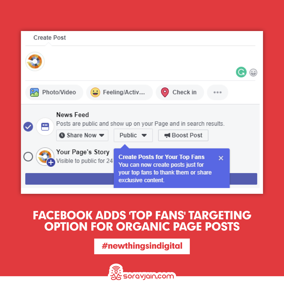 Facebook Adds 'Top Fans' Targeting Option for Organic Page Posts