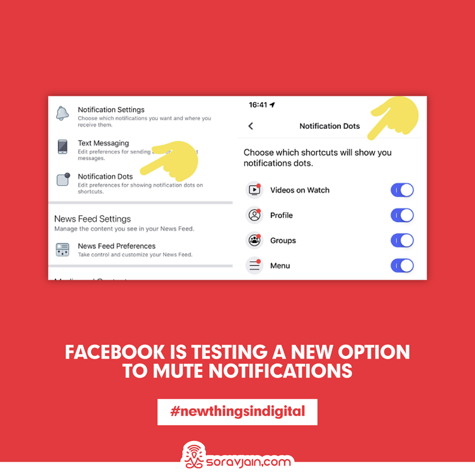 Facebook Is Testing a New Option to Mute Notifications