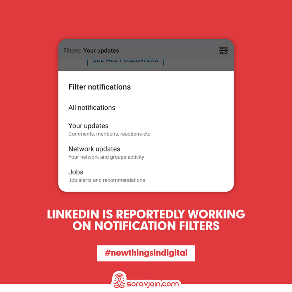 LinkedIn Is Reportedly Working On Notification Filters