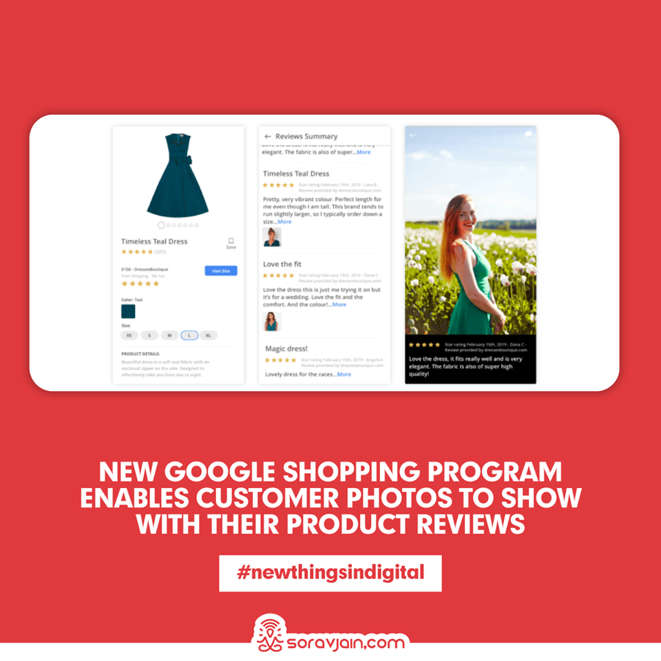 New Google Shopping Program Enables Customer Photos To Show With Their Product Reviews
