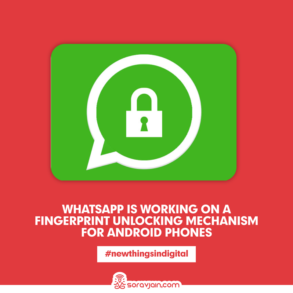 WhatsApp Is Working On a Fingerprint Unlocking Mechanism For Android Phones