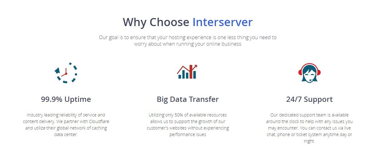 Best Web Hosting Services - InterServer