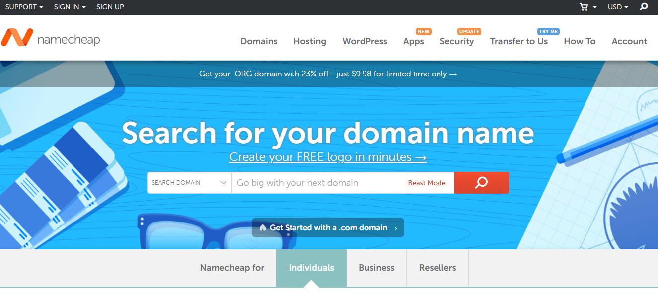 Best Web Hosting Services - Namecheap