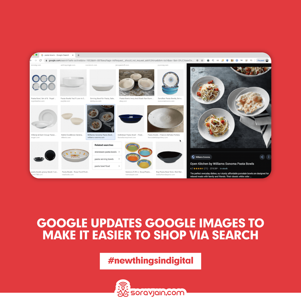 Google Updates Google Images to Make it Easier to Shop via Search