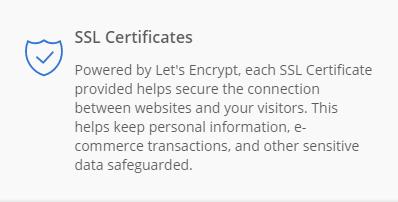 Bluehost review 2020 by Sorav Jain - SSL Certificate