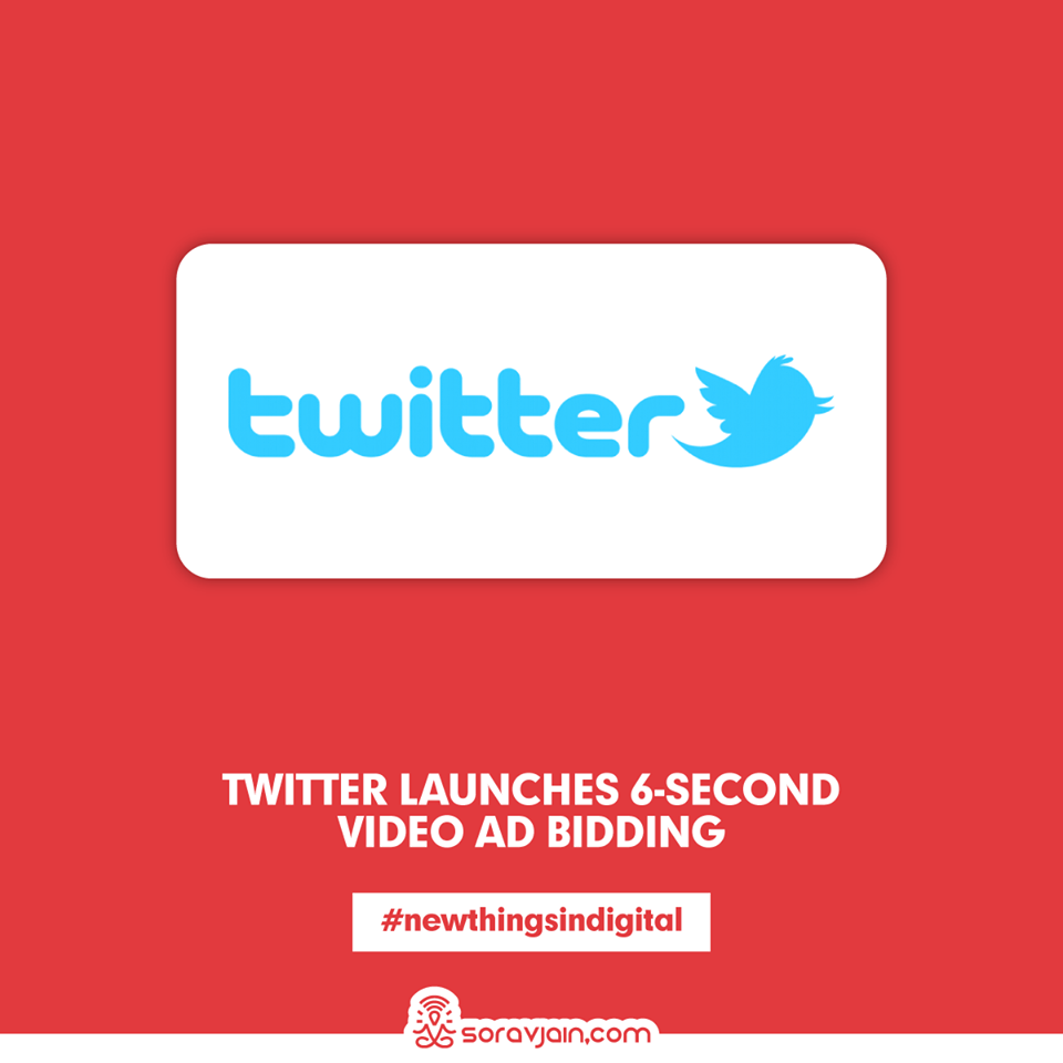 Twitter Launches 6-Second Video Ad Bidding