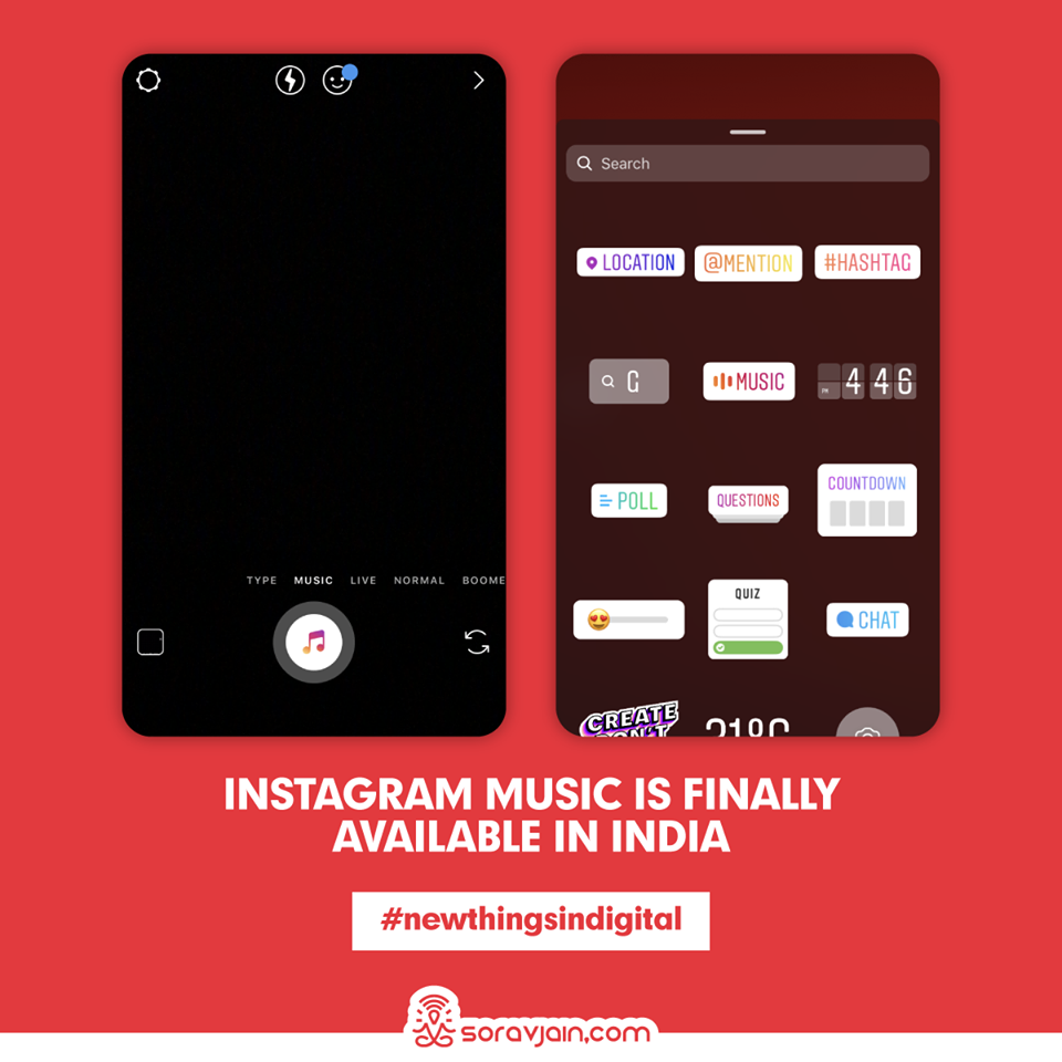 Instagram Music is Finally Available in India