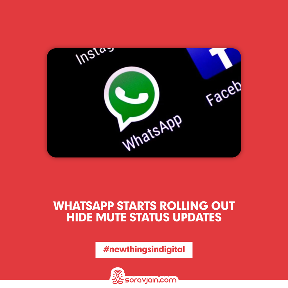 WhatsApp Starts Rolling Out Hide Mute Status Updates