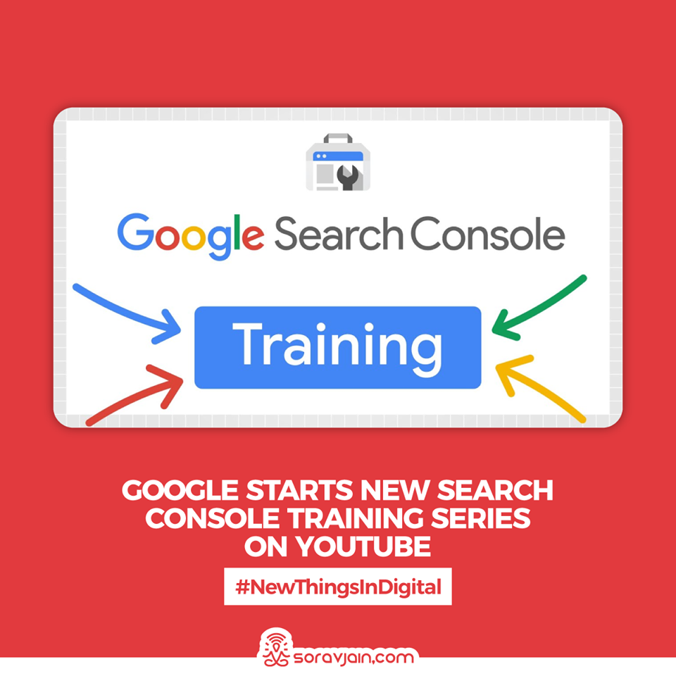 Google Starts New Search Console Training Series on YouTube