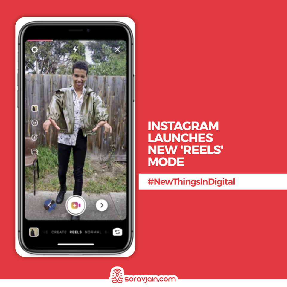 Instagram Launches New 'Reels' Mode