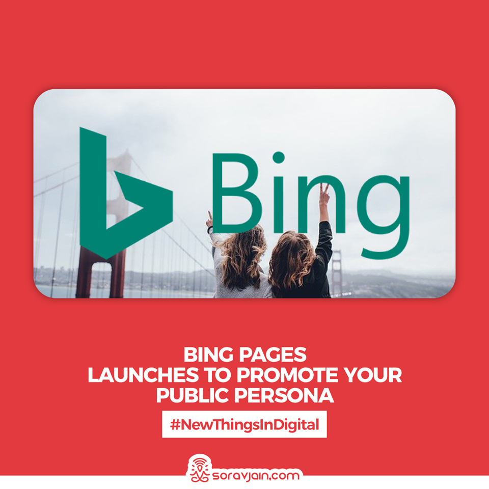 Bing Pages Launches To Promote Your Public Persona