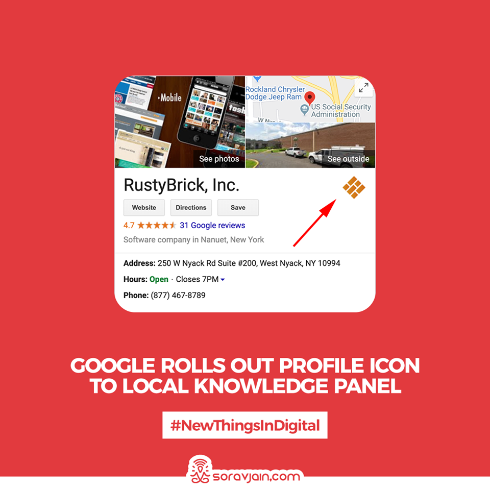 Google Rolls Out Profile Icon To Local Knowledge Panel