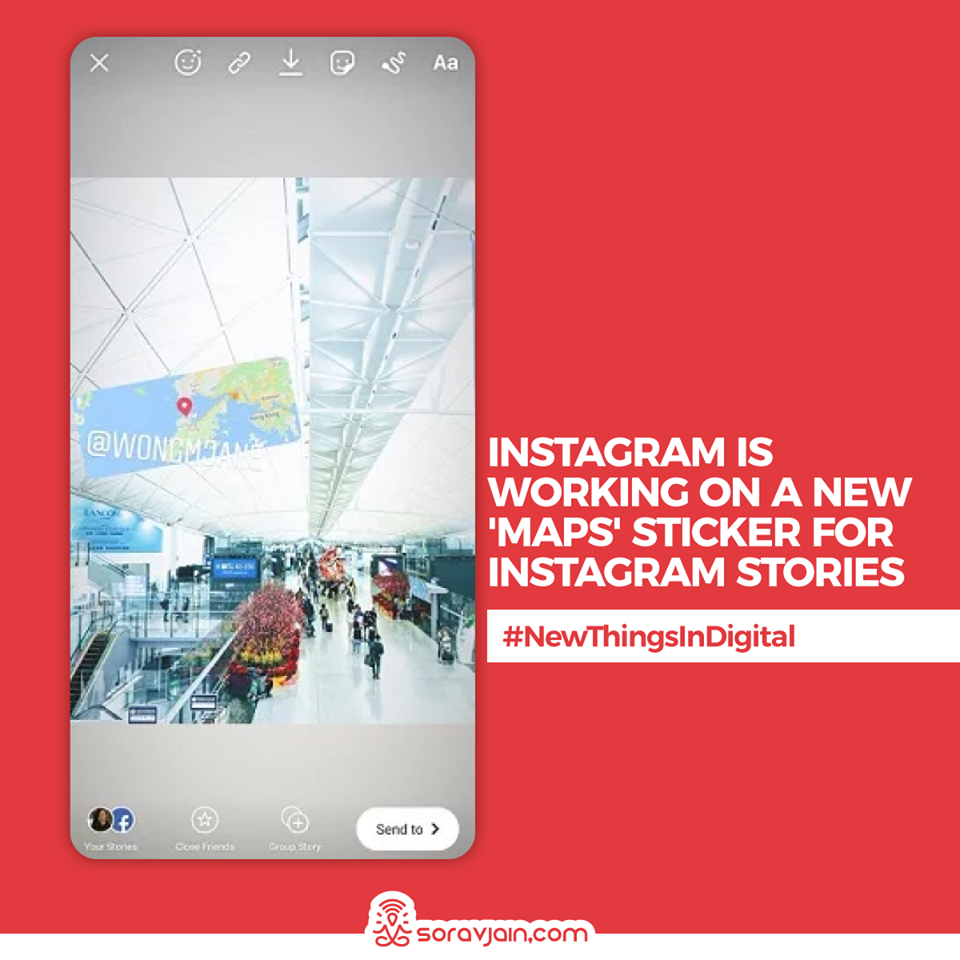 Instagram Is Working on a New 'Maps' Sticker for Instagram Stories