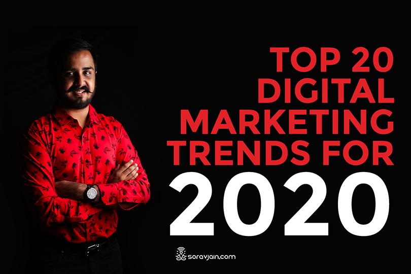 20 Digital Marketing Trends for 2020