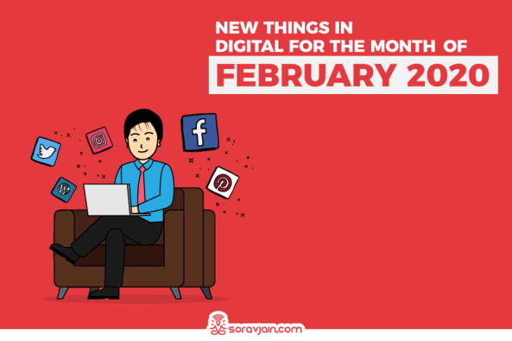 30 New Things in Digital in February – 2020