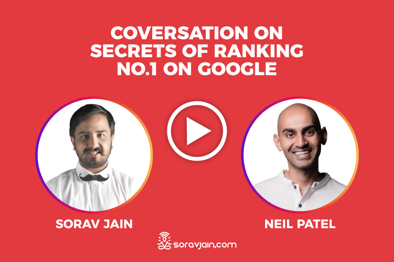 Interview with Neil Patel on The secrets of SEO