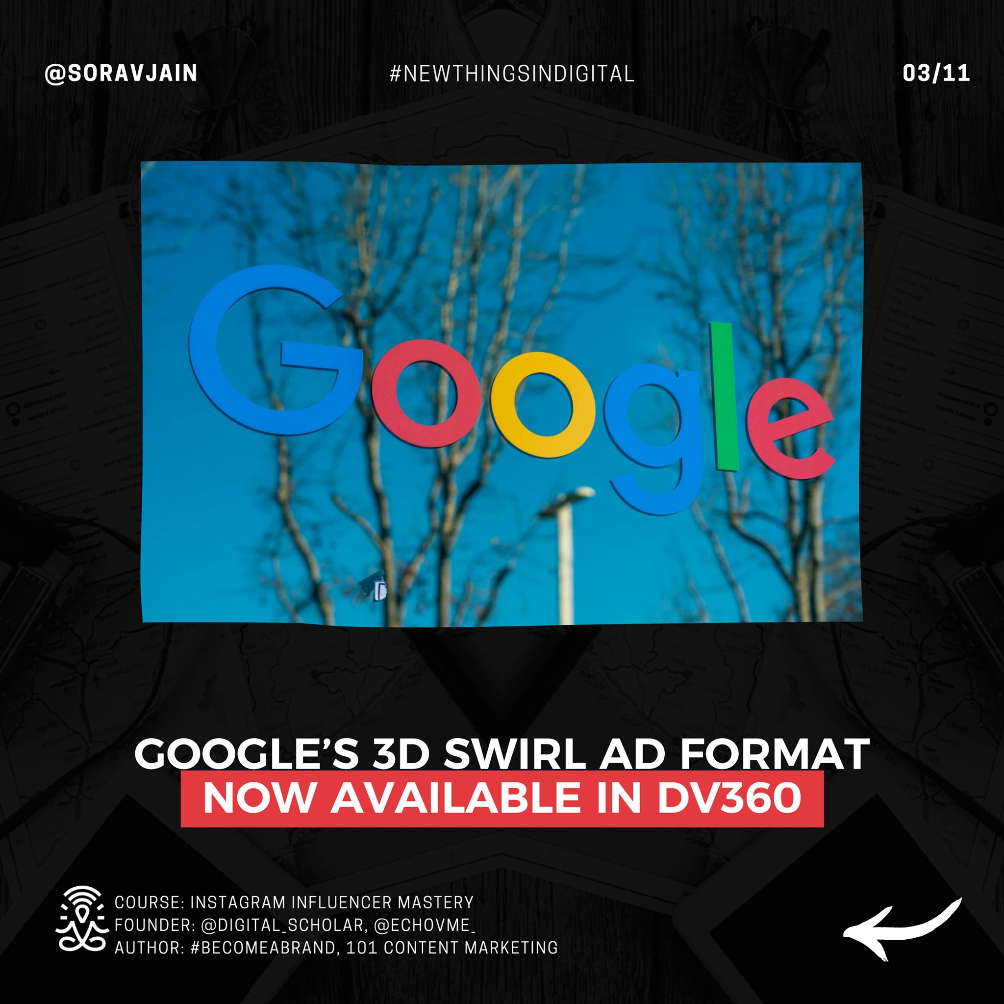Google's 3D Swirl ad format now available in DV360