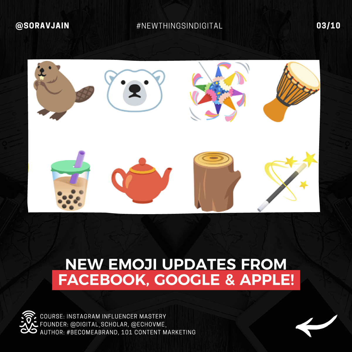 New Emoji updates from Facebook, Google & Apple