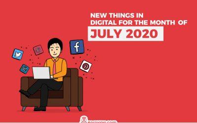 31 New Things in Digital in July 2020