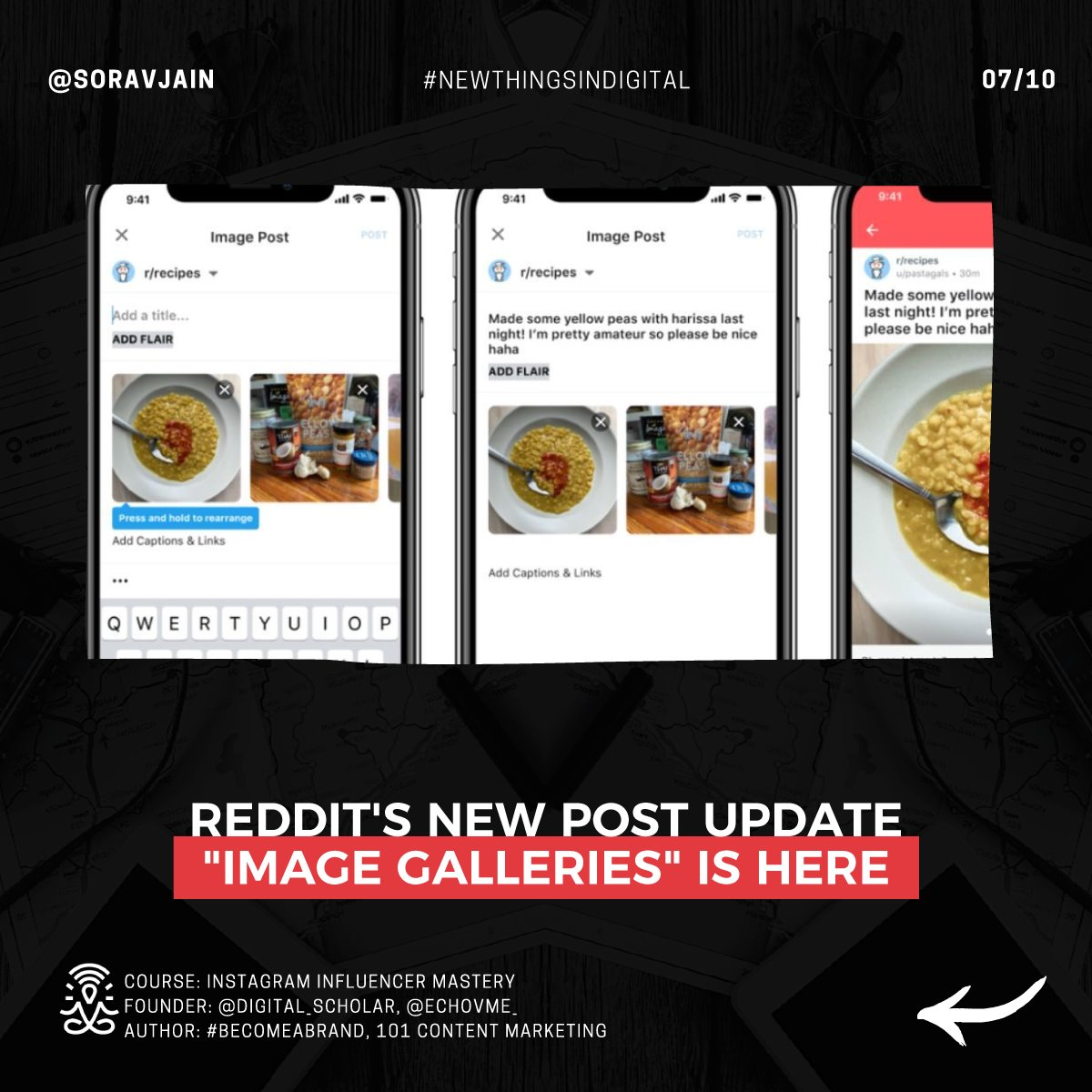 "Reddit's new post update ""Image Galleries"" is here"