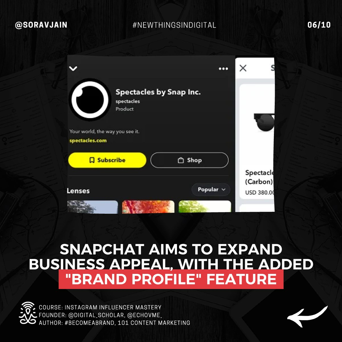 """Snapchat aims to expand Business Appeal, with the added """"Brand Profile"""" feature"""