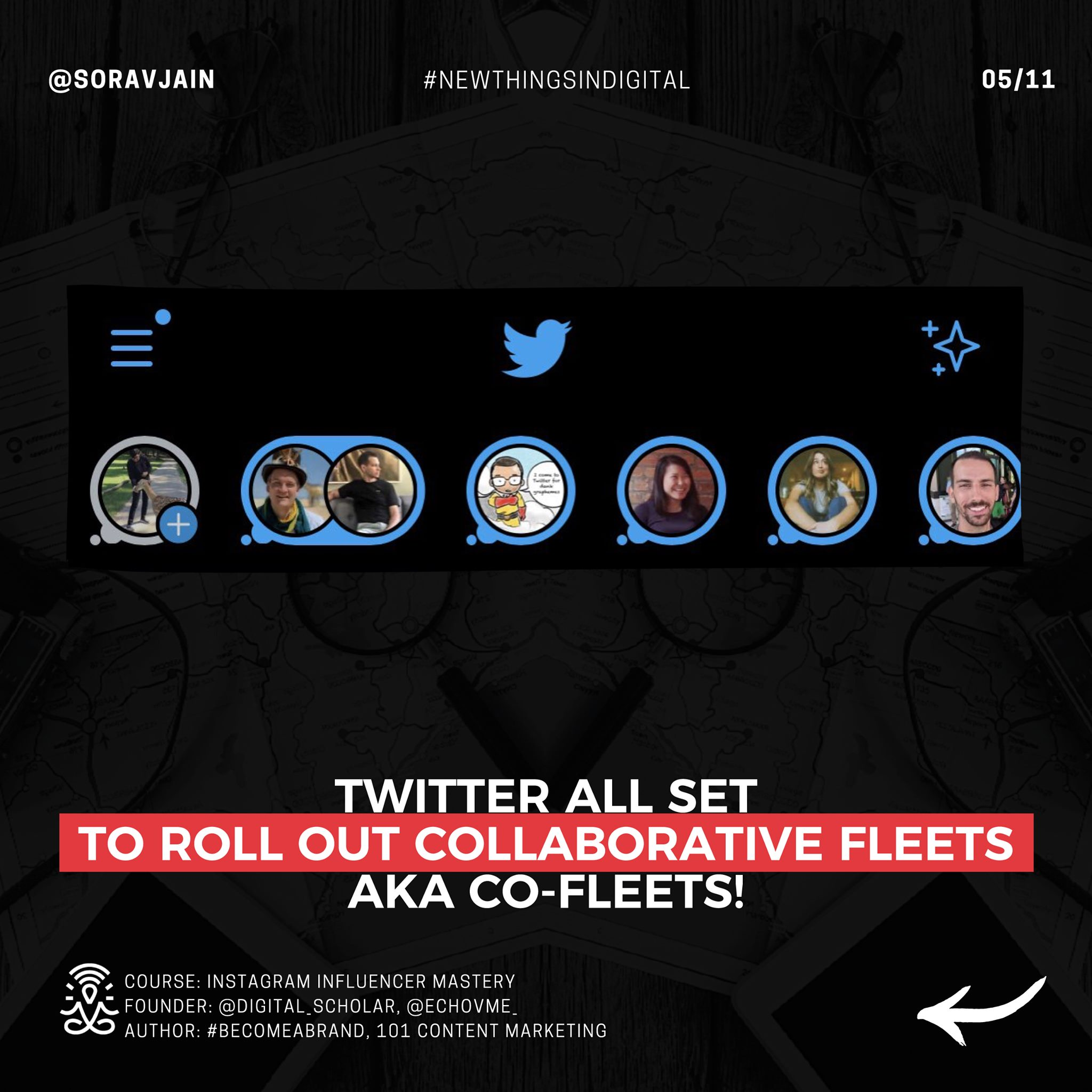Twitter all set to roll out Collaborative Fleets aka co-Fleets!