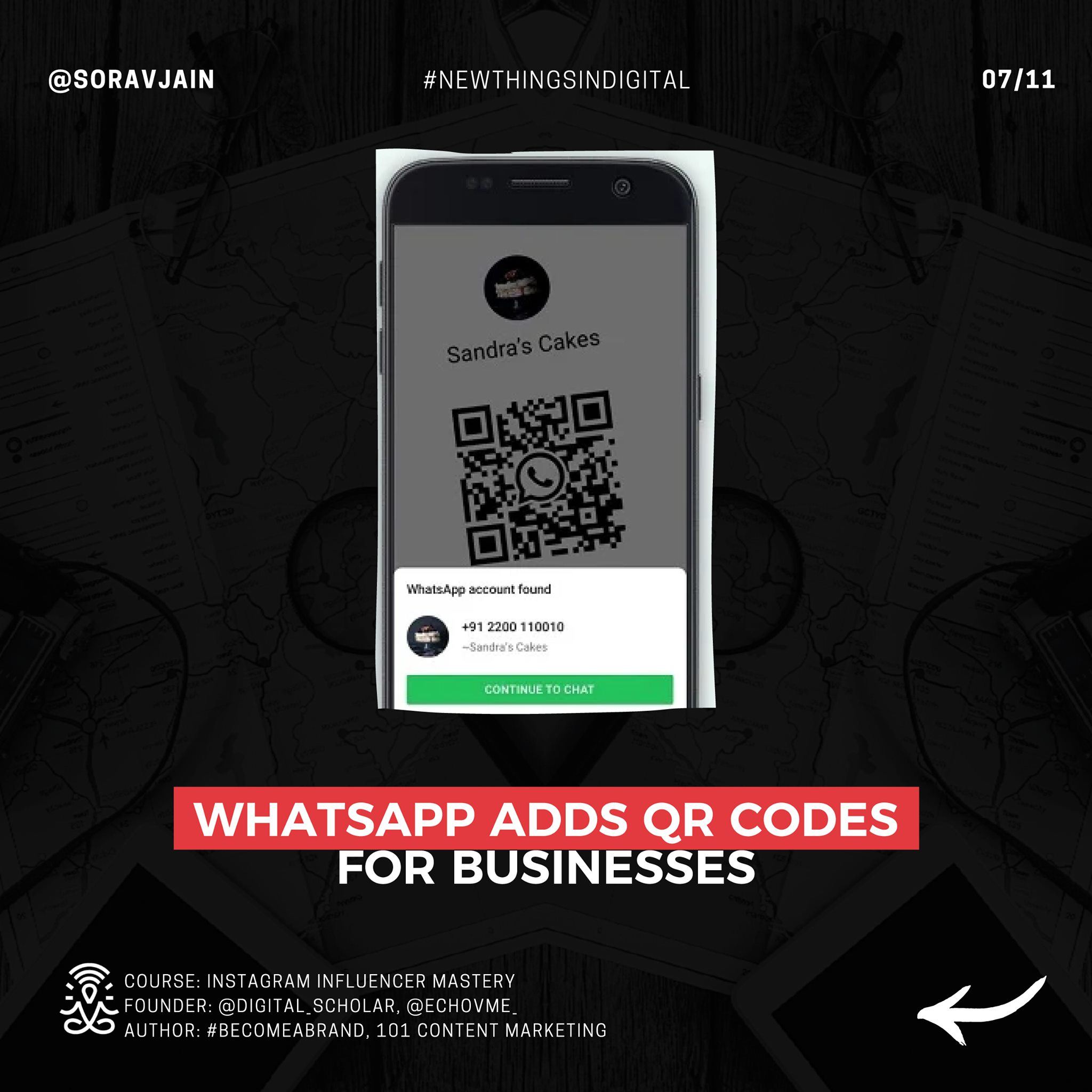 WhatsApp adds QR codes for businesses