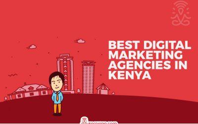 Top 20 Digital Marketing Agencies in Kenya