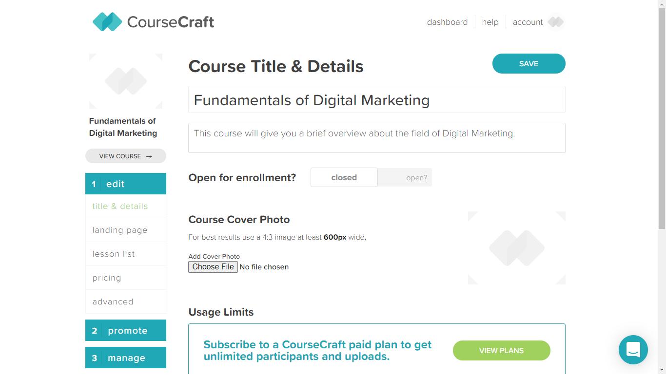 Course Craft