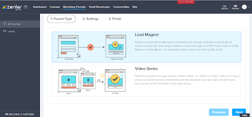 Lead Magnets And Video Sequences - Online Course Creation Software