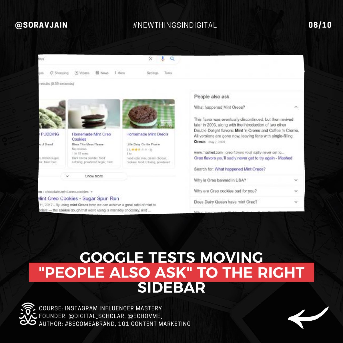 Google tests moving People Also Ask to the right sidebar