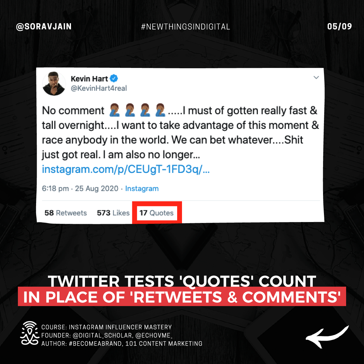 Twitter tests Quotes count in place of Retweets and Comments
