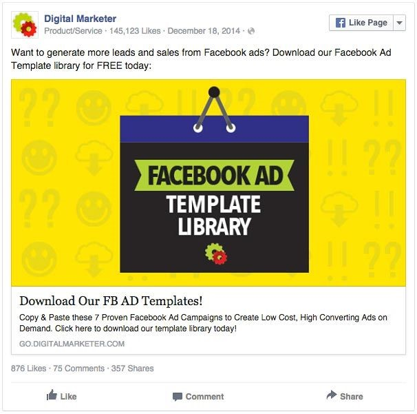 Psychometric Analysis of Colors in Facebook Ads - Yellow