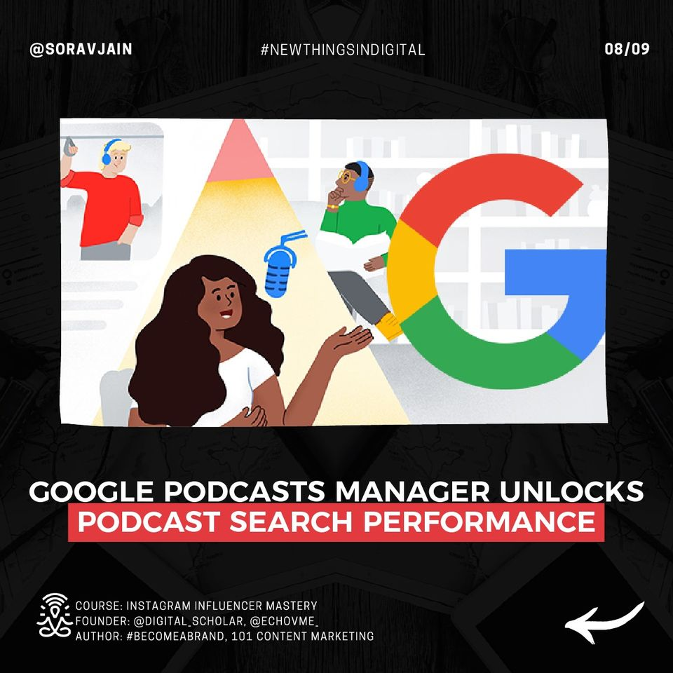 Google Podcasts Manager Unlocks Podcast Search Performance