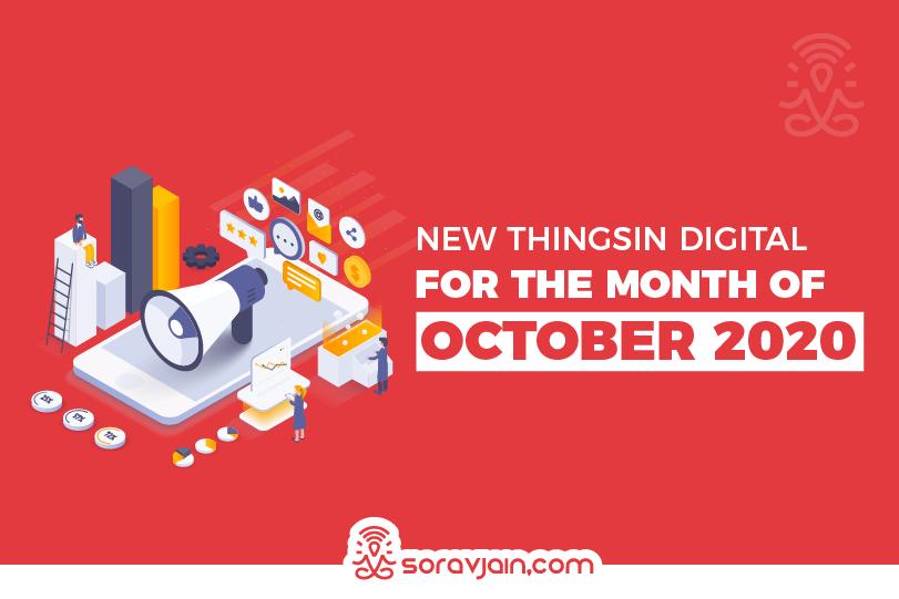 29 New Things in Digital in October 2020