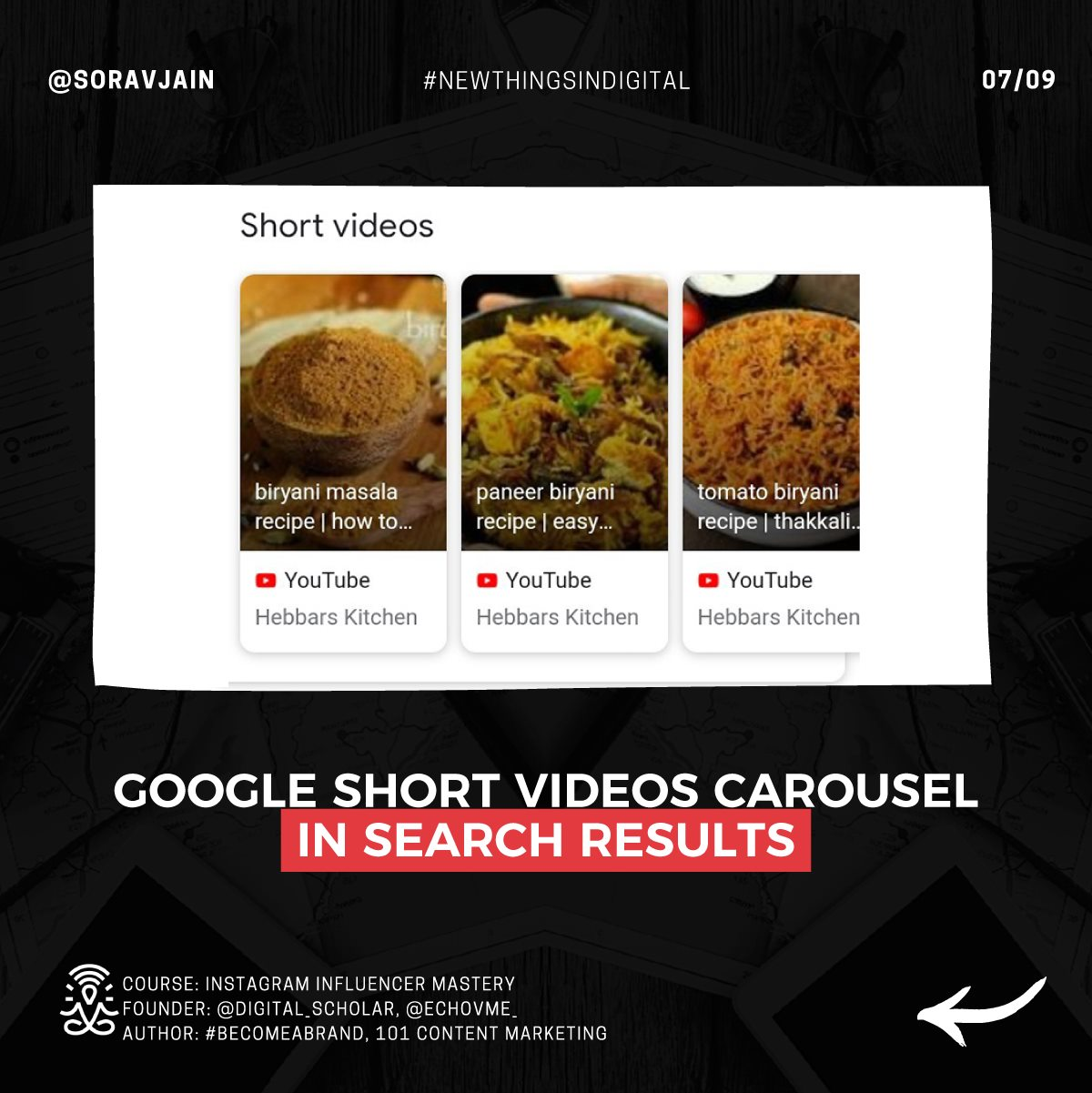 Google Short Videos Carousel In Search Results