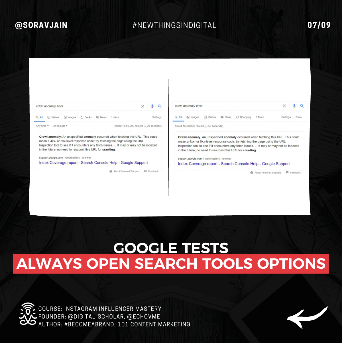 Google Tests Always Open Search Tools Options